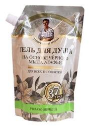 Receptury Babuszki Agafii Żel pod prysznic na bazie czarnego mydła ZAPAS 500ml