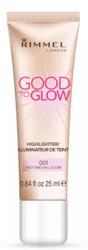 Rimmel Good To Glow Highlighter 001 Notting Hill Glow Rozświetlacz do twarzy  25ml