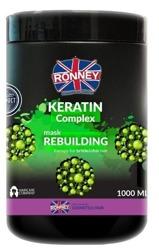 Ronney KERATIN Complex Mask Rebuilding Maska odbudowująca do włosów osłabionych i cienkich 1000ml