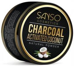 SANSO Charcoal Natural Powder Sproszkowany węgiel kokosowy 30g