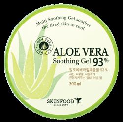 SKINFOOD Aloe Vera 93% soothing gel Wielofunkcyjny żel aloesowy 300ml