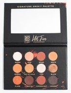 SOSU HOT FIRE Signature Smoky Palette Paleta 12 cieni do powiek
