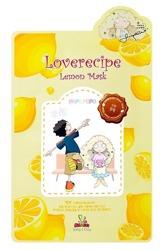Sallys Box Loverecipe Lemon Mask Celulozowa maska w płachcie 20ml