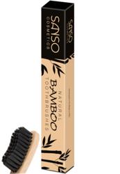 Sanso Bamboo Natural Bambusowa szczoteczka do zębów