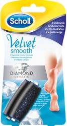 Scholl  Velvet Smooth Diamond  2 wymienne głowice obrotowe do pilnika Scholl Velvet Smooth