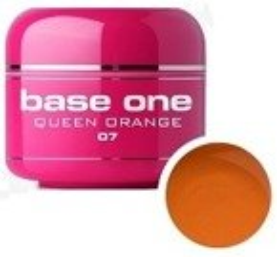 Silcare Base One Glass 07 Queen Orange Żel kolorowy 5g