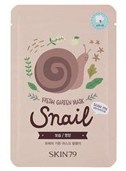 Skin79 Fresh Garden - Maska do twarzy Snail 23g