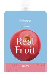 Skin79 Real Fruit Soothing Gel Cranberry Odświeżająco-rewitalizujący żel do mycia ciała 300g
