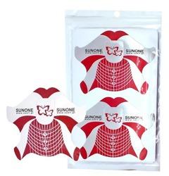 Sleek Shine Szablony Do Paznokci w kształcie motyla 50szt.