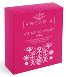 Sylveco Rosadia Zestaw Serum do twarzy 30ml + Krem rozświetlający na dzień 50ml + Krem odżywczy na noc 50ml