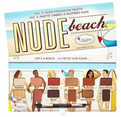 ThaBalm Nude Eyeshadows Palette Nude Beach vol.3 Paletka cieni do powiek