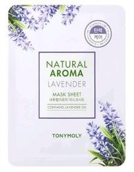TonyMoly Natural Aroma LAVENDER maska w płachcie