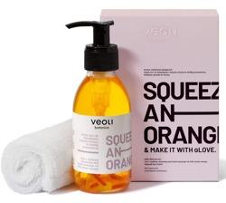 VEOLI Botanica Zestaw Olejek 2w1 do demakijażu i masażu twarzy + ręcznik do twarzy
