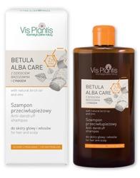 Vis Plantis Betula Alba Care Szampon przeciwłupieżowy z naturalnym dziegciem brzozowym i cynkiem  300ml