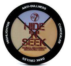 W7 Hide 'N' Seek Colour Correcting LAVENDER Paleta 3 korektorów