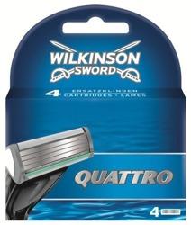 Wilkinson Quattro Men Wkłady do maszynki 4szt