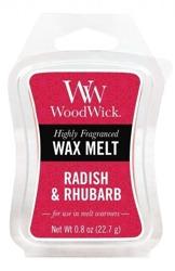 WoodWick Wax Melt Wosk zapachowy RADISH&RHUBARB 22,7g