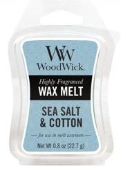 WoodWick Wax Melt Wosk zapachowy SEA SALT&COTTON 22,7g