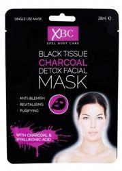 Xpel XBC Characol Detox Facial Mask Detoksykująca maska w płachcie