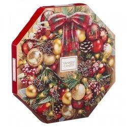 Yankee Candle Kalendarz Adwentowy Alpine Christmas Wieniec