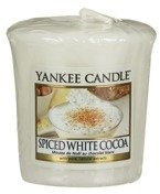 Yankee Candle Sampler Świeca Spiced White Cocoa 49g