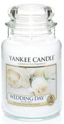 Yankee Candle Świeca zapachowa Słoik duży Wedding Day 623g