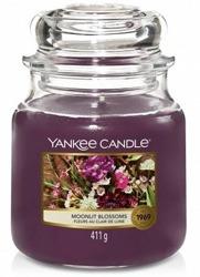 Yankee Candle Świeca zapachowa Słoik średni Moonlit Blossoms 411g