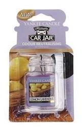 Yankee Candle car jar Ultimate Odświeżacz samochodowy Zawieszka słoik Lemon Lavender 1szt.