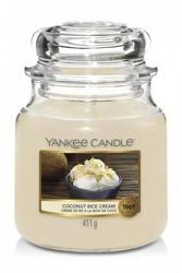 Yankee Candle świeca słoik średni Coconut Rice Cream 411g