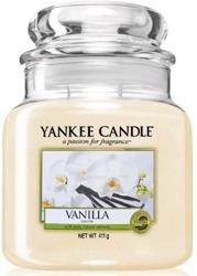 Yankee Candle świeca zapachowy słoik średni Vanilla 411g
