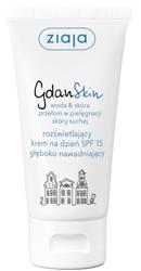 Ziaja GdanSkin Krem na dzień SPF15 rozświetlający 50ml