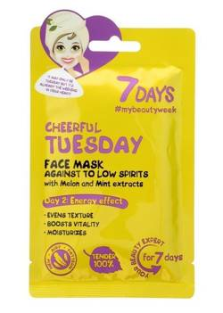 7Days maska do twarzy Cheerful Tuesday 28g