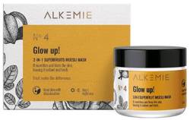 ALKEMIE Nature's Treasure GLOW UP! 2W1 maska/peeling15ml