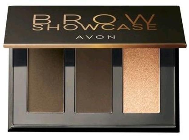 AVON Brow Showcase paleta do brwi Medium