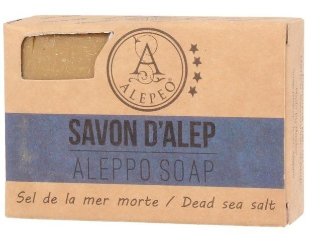 Alepeo Aleppo Soap Sel De La Mer Morte Naturalne mydło Aleppo 100g