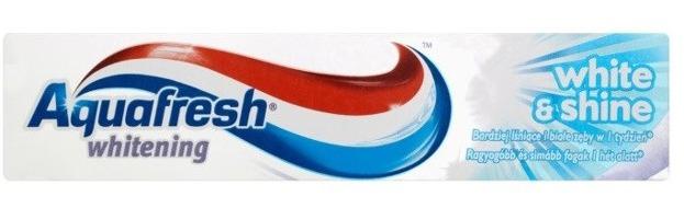 AquaFresh Pasta do zębów WHITE&SHINE 100ml