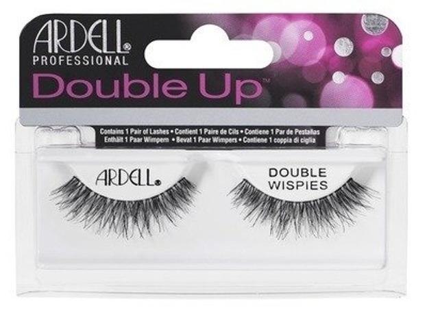 Ardell Double Up Double Wispies Sztuczne rzęsy czarne 1 para