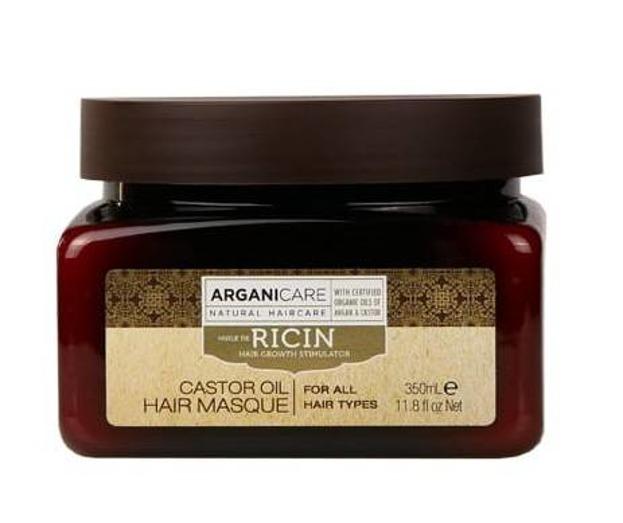 ArganiCare Hair Masque CASTOR Maska do włosów z olejem rycynowym 350ml