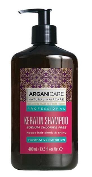 ArganiCare Shampoo KERATIN Szampon do włosów z keratyną 400ml