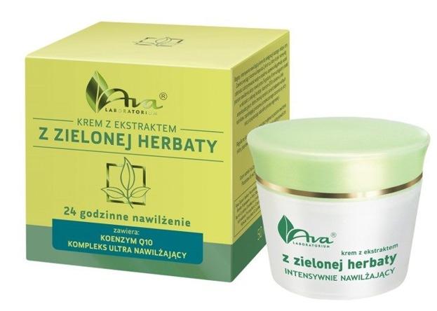 Ava Krem z ekstraktem z zielonej herbaty 24-godzinne nawilżanie 50ml
