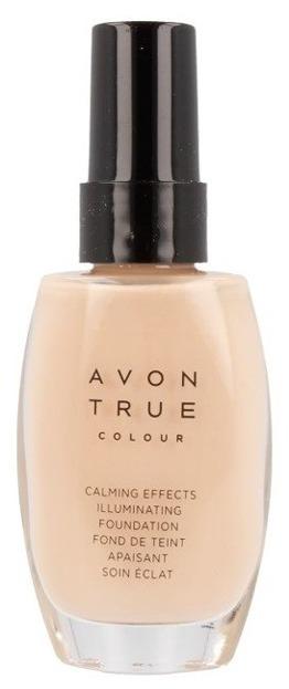 Avon True Colour Podkład rozświetlająco-antystresowy NUDE 30ml