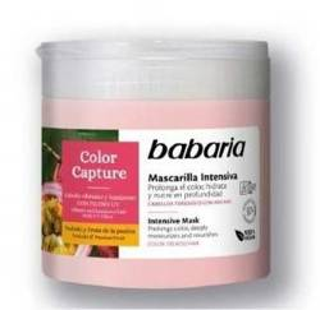 BABARIA COLOR maska do włosów farbowanych 400ml
