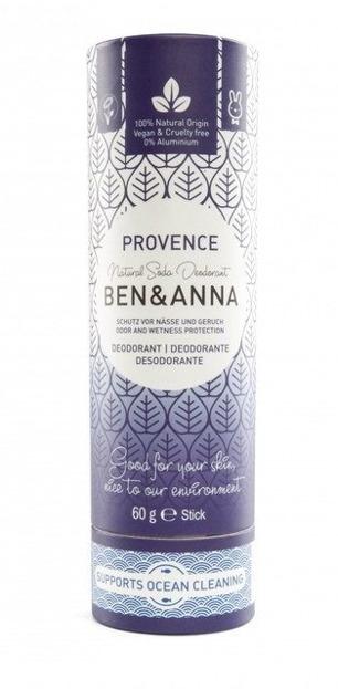 BEN&ANNA Naturalny dezodorant w sztyfcie PROVENCE 60g