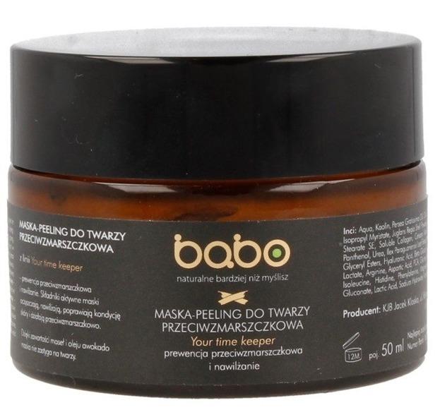 Babo Maska-peeling do twarzy przeciwzmarszczkowa 50ml