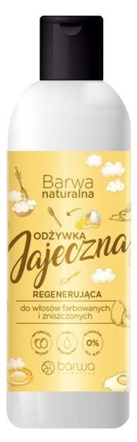 Barwa Naturalna Regenerująca odżywka jajeczna do włosów farbowanych i zniszczonych 200ml