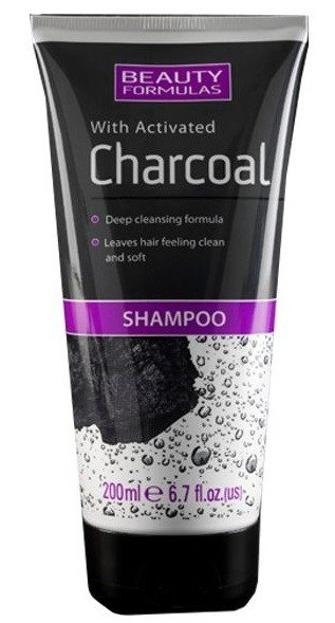 Beauty Formulas Charcoal Głęboko oczyszczający szampon z aktywnym węglem 200ml
