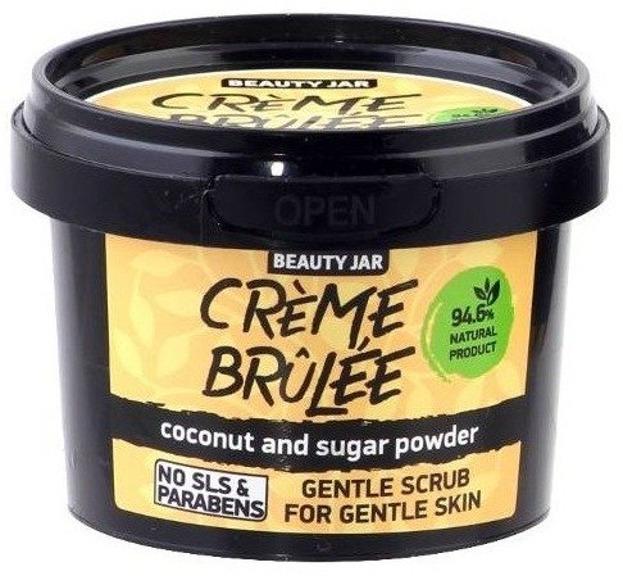 Beauty Jar Scrub do twarzy Creme Brulee 120g