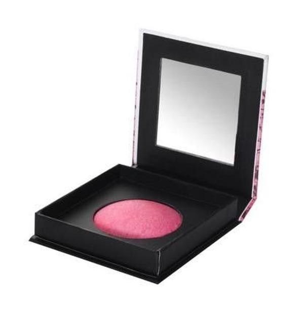 Beauty UK Baked Blush - Wypiekany róż do policzków 1 Popsicle Pink, 4,4 g