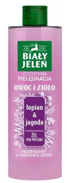 Biały Jeleń Żel pod prysznic Łopian&Jagoda 400ml