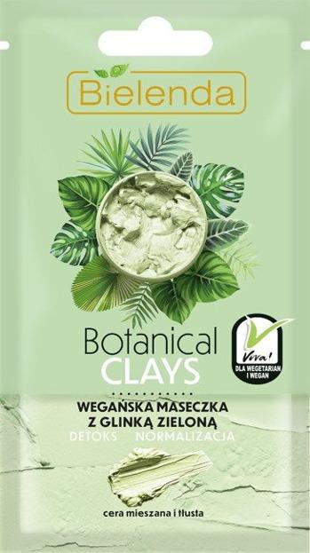 Bielenda Botanical Clays maseczka do twarzy z glinką zieloną 8g